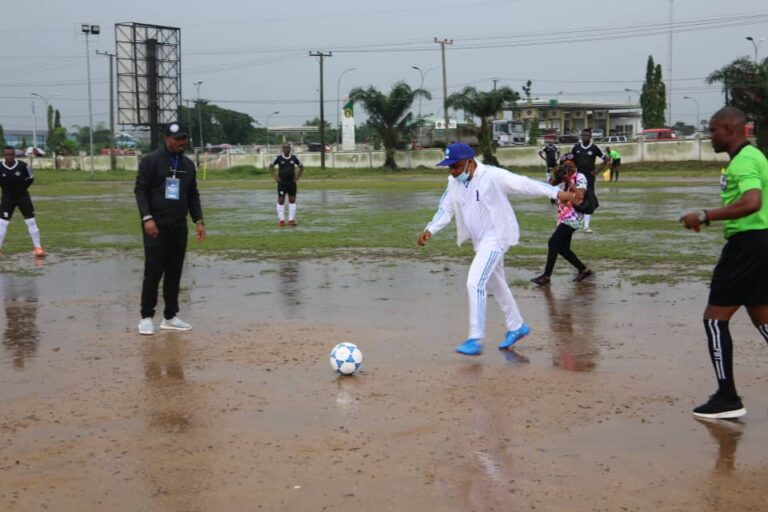 NDDC Football Competition Kicks-off in Uyo